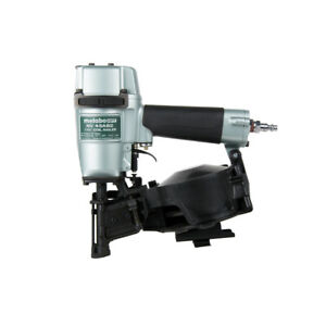 Metabo Hpt 16 Degree 1 3 4 In Adjustable Drive Coil Roofing Nailer Nv45ab2 New