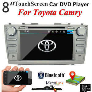 For Toyota Camry 2008 2011 Car Dvd Player Gps Navigation Radio Stereo Bluetooth