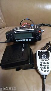 New Motorola Commercial 2 Way Radio Xtl 2500 W microphone speaker bracket