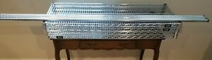 Uline Shelving H 2941 72 Steel Chrome Wire Shelving 48x18x72 4 Racks H 294172