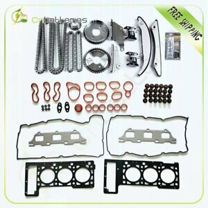Head Gasket Set With Timing Chain Kit For 05 06 Chrysler 300 Dodge Stratus 2 7l