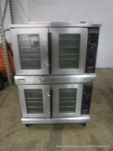 Lang Accu plus Electric Double Stack Full Size Convection Oven 1 Or 3 Phase