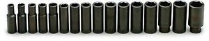 Wright Tool 1 2 In Drive Impact Socket Set 467