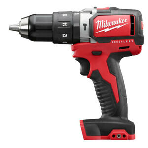 Milwaukee M18 1 2 In Li ion Hammer Drill Driver tool Only 2702 80 Recon