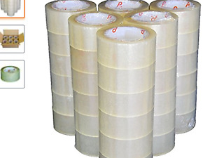 Clear Packaging Shipping Tape Sealing Tape 2 X 110 Yds Pack Of 36 Rolls