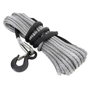 Smittybilt 97710 Xrc Synthetic Winch Rope Rated Line Pull 10000lb 94 Ft