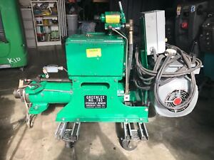 Greenlee N 785 Hydraulic Bender Machine
