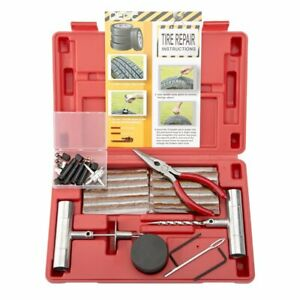 65 Piece Tire Repair Tools Plug Flat And Punctured Tires Fashion For Motorcycle