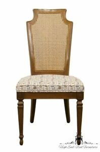 Drexel Furniture Italian Neoclassical Cane Back Dining Side Chair
