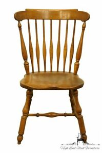 Heywood Wakefield Solid Maple Colonial Style Dining Side Chair 421 11 W Cinn