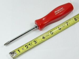 Rare Snap On Sddp42 2 Phillips Hard Handle Screwdriver Red W Silver Script