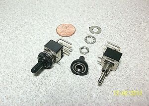 Toggle Switch 1 4 Mount 250v 6a M113 Selling 2 Pack New B1