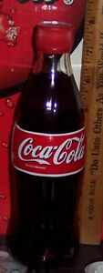 1999 GERMANY 0.33L  COCA COLA  GLASS BOTTLE STYROFOAM LABEL