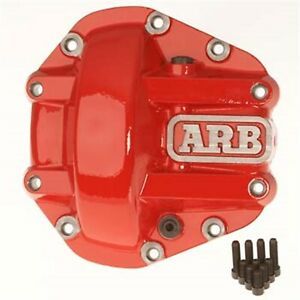 Arb 4x4 Accessories 0750004 Differential Cover For Use With Dana 35 In Red