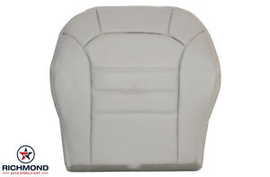 2002 2003 2004 Jeep Liberty Sport driver Side Bottom Leather Seat Cover Lt Gray