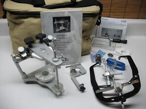 Whipmix 3140 Magnetic Semi Adjustable Dental Articulator Quicklock Facebow