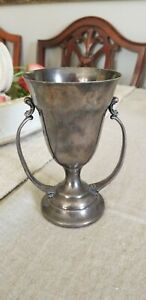 Antique Vintage Trophy Art Noveau Wallace Brothers Silverplate
