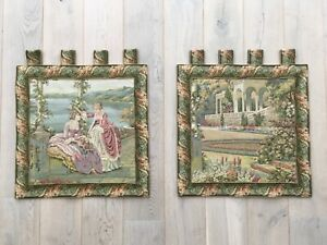 Elegant Vibrant High Quality Belgian Tapestries Ready For Hanging