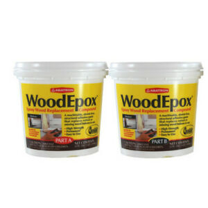 2 Part a B 1 Quart Each Wood Epoxy Kit