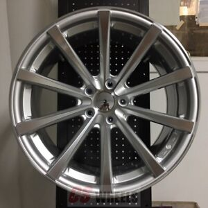 19 Eclipse Style Silver Concave Wheels Rims Acura Tl Tsx Rsx Type S