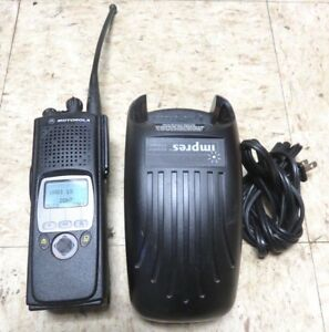 Motorola Xts5000 700 800 Mhz 2 Way Radio W charger H18ucf9pw6an Excellent