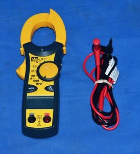 Ideal Industries 61 744 600 amp Clamp Meter