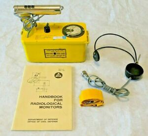 tested Civil Defense Victoreen Cdv 700 Model 5 Geiger Counter survey Meter