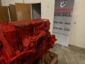 2006 Cummins Isx Diesel Engine Assembly Tested Cpl 8520 326 493 Miles Free Ship