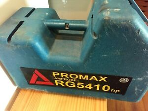 Atp Promax Rg5410a Refrigerant Recovery Machine Hvac Ac Pre owned Powers Up