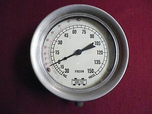 Old Vintage Marshalltown Mfg Co Freon Gauge Steampunk