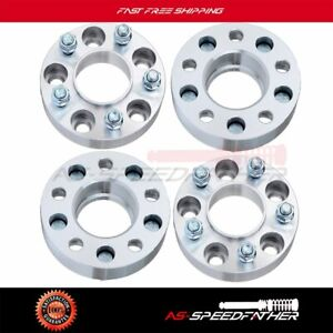 4pcs 1 5 Thick 5x114 3 Hubcentric Wheel Spacers For 2002 2013 Jeep Liberty