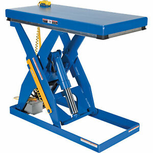 Vestil Hydraulic Lift Table 3 000 lb Cap ehlt 2448 3 43