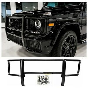 W463 G class Amg Style Black Front Grille Brush Guard For G550 g500 g55 g63