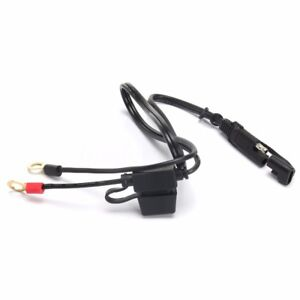 Car Battery Charger Tender Cable Ring Terminal Harness Quick Disconnect New