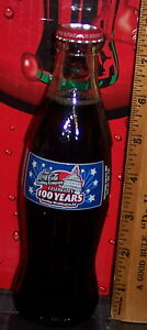 2005 WASHINGTON DC COCA COLA BOTTLING CO 100TH ANNIVERSARY 8OZ COCA COLA BOTTLE