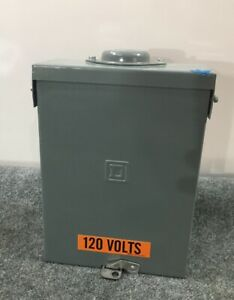 Used Square D 100amp Load Center Qo8 16l100rb With Breakers