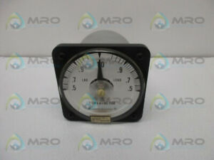 General Electric 50 112402fcad1 Power Factor Meter Used