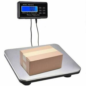 660lbs 0 1lb Ac Digital Scale Floor Bench Scale Postal Platform Shipping Scales