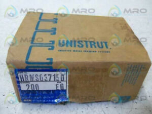 Lot Of 200 Unistrut Hrms037150 new In Box