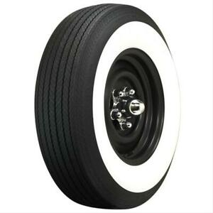 Coker Classic 3 25 Whitewall G78 14 Bias ply Tire 55481 Each