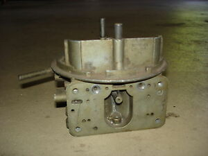 Holley 3310 780 Cfm Carburetor Center Section Dated 154 Chevelle Nova Camaro