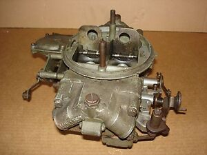 Vintage 1969 1970 4604 Holley 1050 Cfm 3bl Carburetor Dated 901 Boss 429 Zl1 L88
