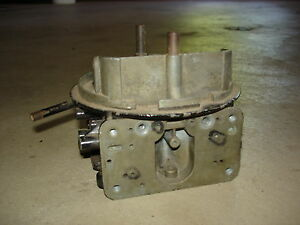 Holley 3310 780 Cfm Carburetor Center Section Dated 0245 Chevelle Nova Camaro