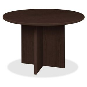 Lorell Prominence Round Laminate Conference Table pt42res