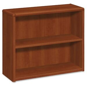 Hon 10700 Series Cognac Laminated Fixed Shelves Bookcase 36 Width X 13 1