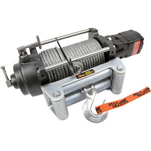 Mile Marker H Series Hydraulic Winch 12 000 Lb Cap 12v Dc 70 52000c