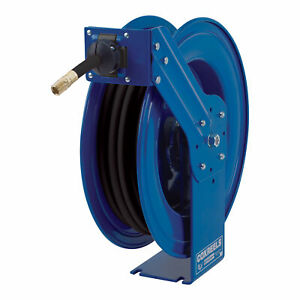 Coxreels H duty Med High pressure Hose Reel for Oil 3 8in X 50ft Hose Mp n 350