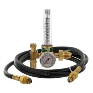 Victor 0781 2743 Hrf 1425 580 Flow Meter Regulator With 10 Ft Hose Cga 580