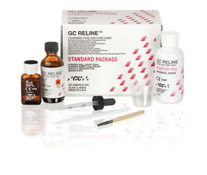 Reline Chairside Hard Denture Liner Standard Package Universal By Gc Clearance