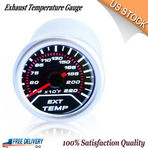 2 Egt Exhaust Temperature Gauge Meter Monitor Lancer Evo 8 9 Wrx Sti Impreza